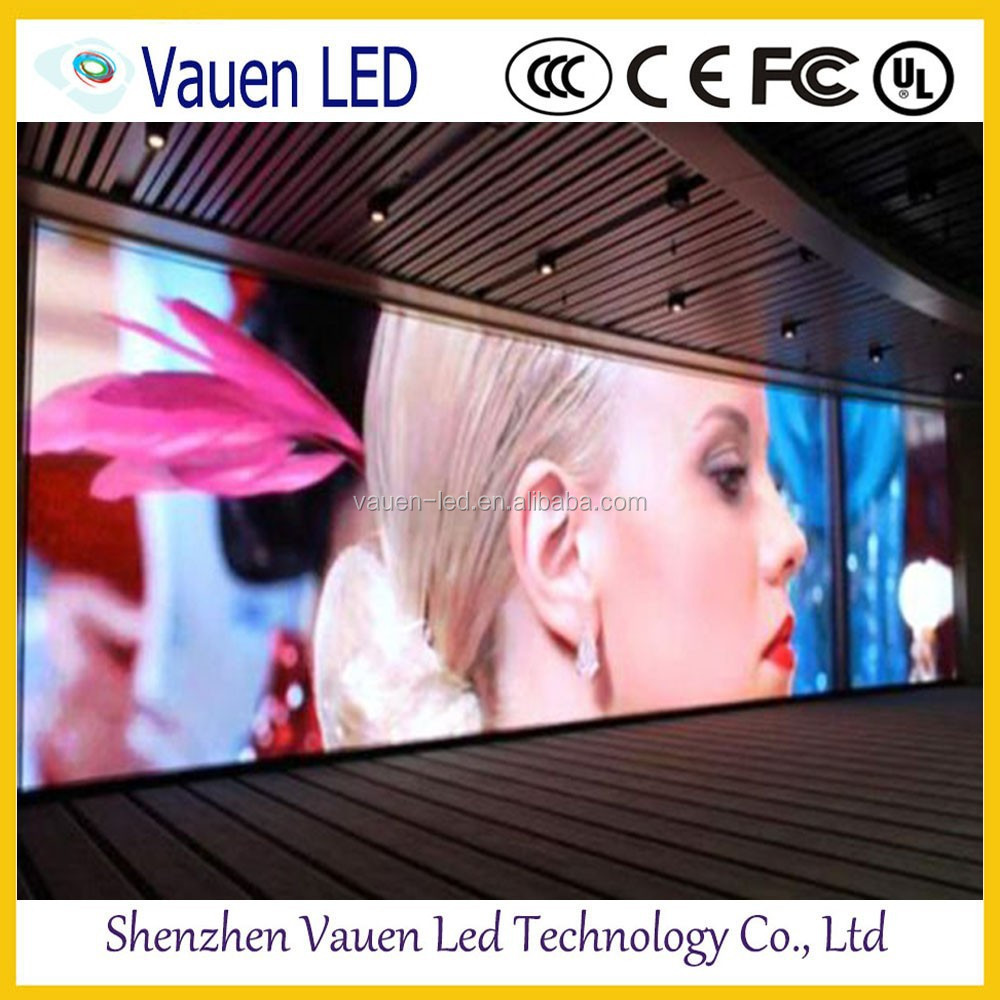 High Resolution Full Color P5 Fixed Indoor 7 Segment LED Display