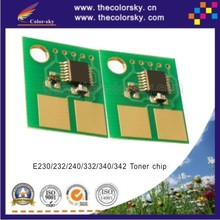 (CS-LE230) compatible toner cartridge reset chip for Lexmark E 230 232 238 240 330 332 332n 340 342 342n BK