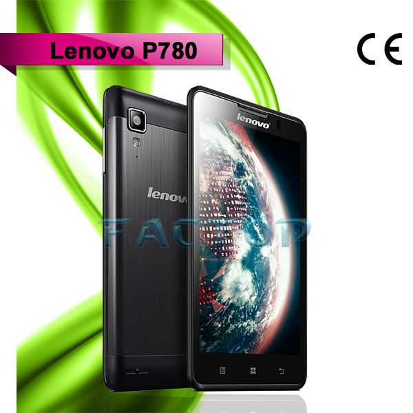 Lenovo P780 dual sim card dual standby ram 1gb rom 4gb quad core best sale quad core download games for mobile touch screen