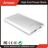 silver aluminium 2.1a power bank 18000 mAh