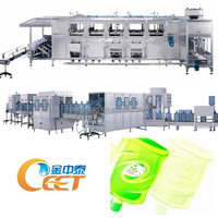 Drinking Water Filling Plant / Mineral Water Bottling Equipment / Filling packing Line for 18.9L