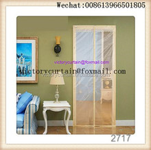 Hot sell shengli patio pet door strong magnets magnetic door curtains