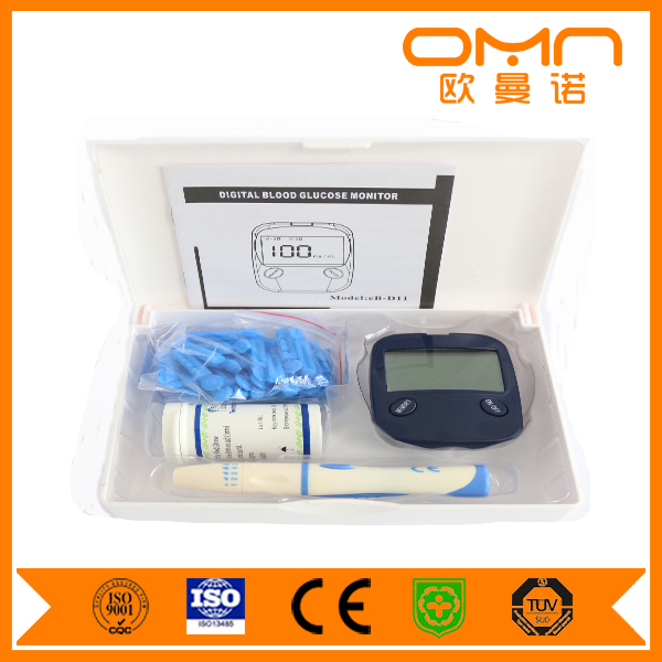 Intelligent Hematology analyzer blood Glucose Meter , Best Quality CE Home Care digital Blood Sugar diabetes test machine