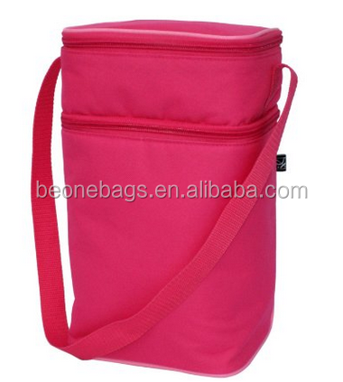 2015 alibaba china hot sell 6 bottles capacity insulated lunch cooler bag