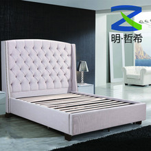 high quality comfortable king size bed frame for home furniture