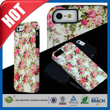 C&T new product mobile phone soft pc tpu combo phone case for iphone 6
