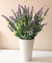 Home decoration outdoor artificial dried lavender flower for sale