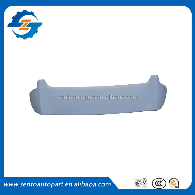 Hot sale high quality ABS material car rear spoiler for Jazz Fit 2011