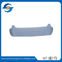 Hot sale high quality ABS primer unpainted color car rear spoiler for Jazz Fit 2011
