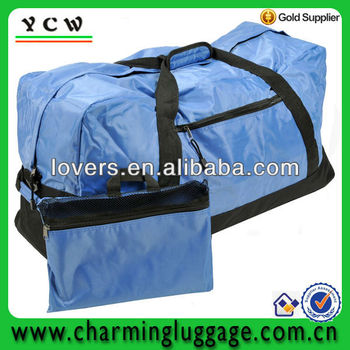 2014 high quality polyester foldable travel bag