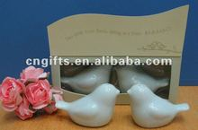 hot sell wedding giveaways Love gift Birds in the Window Salt and Pepper Shakers favors
