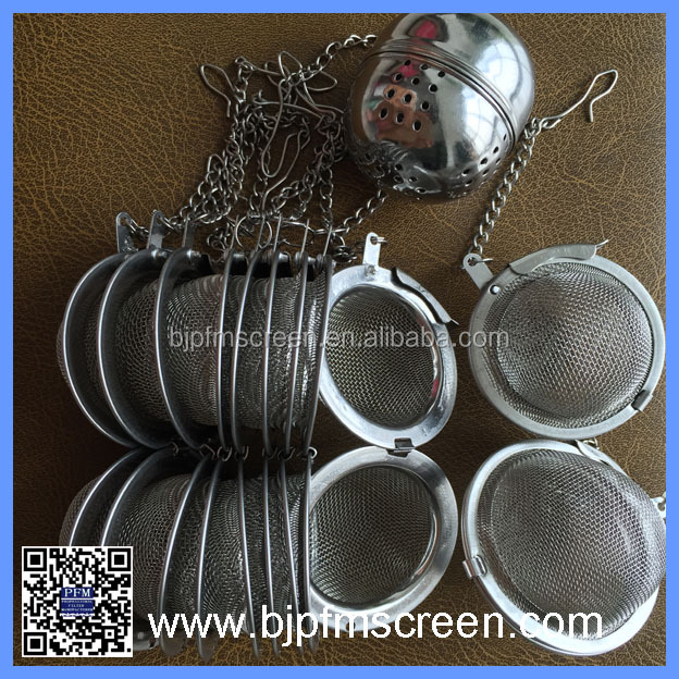 New Tea Infuser Stainless Steel Tea Pot Infuser Sphere Mesh