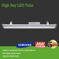 New Led ceiling industrial light High Bay 120w, T5 high bay fixture replacement