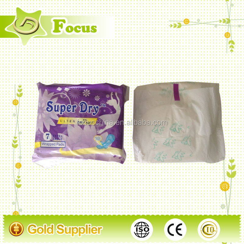 New products looking for distributor sanitary napkin in bulk