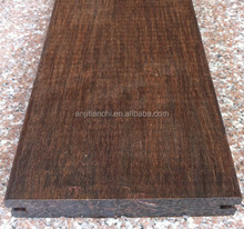Outdoor Smooth Surface Strand Woven Bamboo Flooring