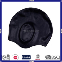 Silicone Swimming Cap With Ear Pockets