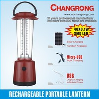high power battery operate outdoor led lantern solar panel
