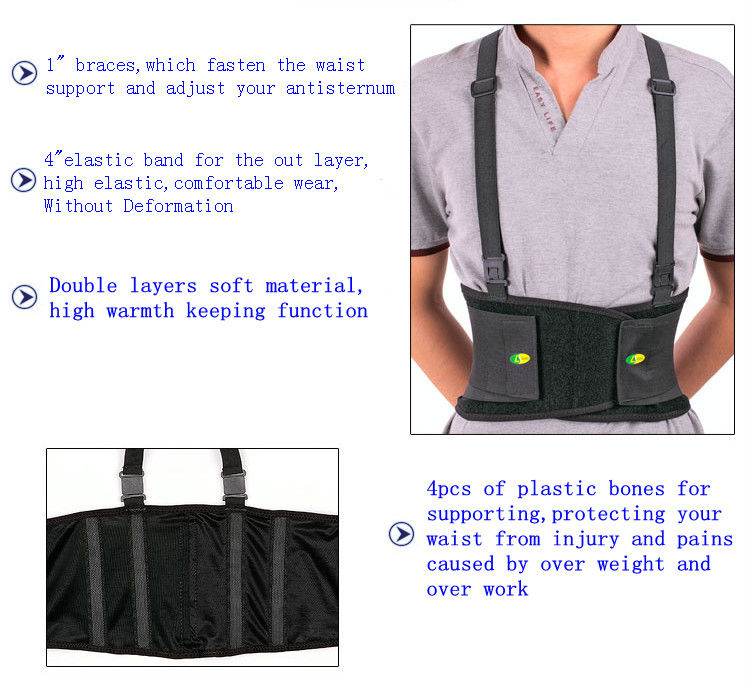 2015 Dongguan high quality posture corrector of waist support for Ladies Belt
