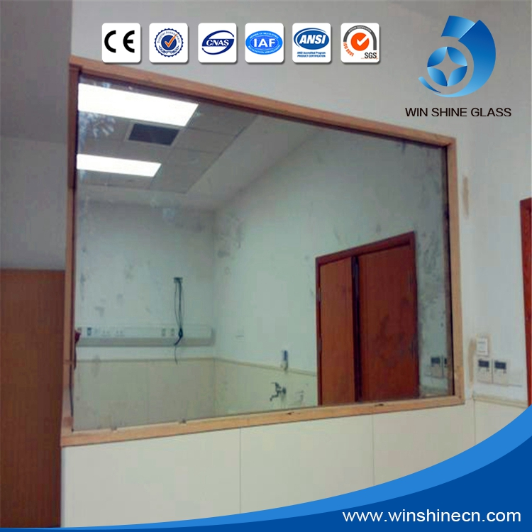 Magic one way mirror glass for interrogation room of police office, court