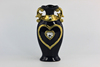 gold decor ceramic vase