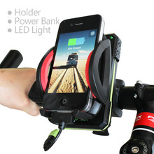 New Smart Universal Smart cell phone Charger holder with power supply Bike bicycle Mount waterproof cycling accessory rainproof