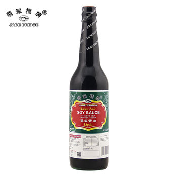 NO MSG Chinese Specialty Flavor Low Salt Light Soy Sauce 625ml