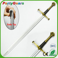 LARPgears Foam Gold Weapon Latex Replica Swords Anime Cosplay