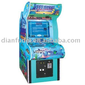 Big fish eat small fish arcade video electronic game machine
