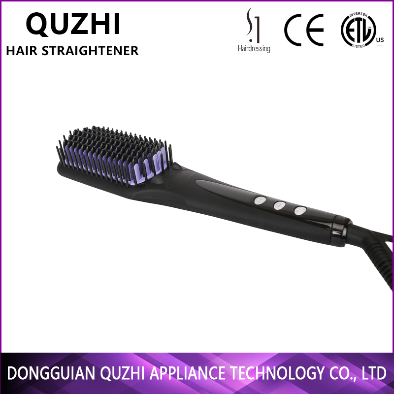 hair tech straighteners straightening brush comb hair salon equipment wholesale lcd,MCH