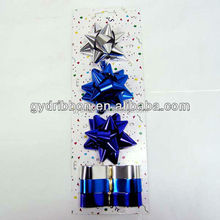 Decoration Ribbon Bows : plastic star ribbon bow and giftwrap ribbon egg for gift wrapping/ present decorative