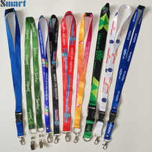 High Quality Custom Sublimation Neck Strap Printed Lanyard With Id Card Badge Holder