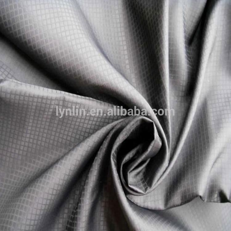 China Supplier 100 Nylon Ribstop Milky Coated Fabric For Windbreaker