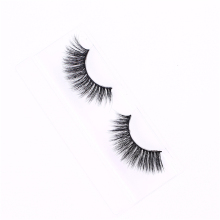 Comfortable private label synthetic hair recommended fake eyelashes