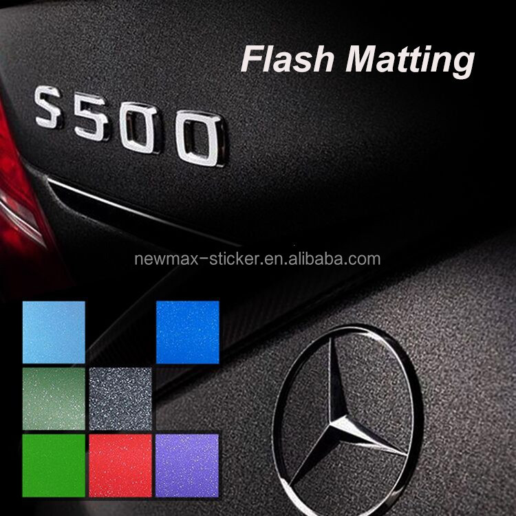 NEWMAX Custom Holographic Vinyl Wrap Self-Adhesive Car Window sticker Paper