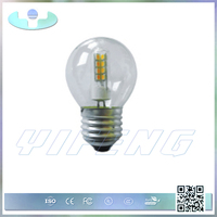 G45-Q4 First rate factory price 12v 24v led candle bulb