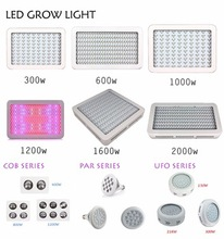 100% Tested 300W 450W 600W 900W 1000W 1200W 1600W 2000W Led Grow Light