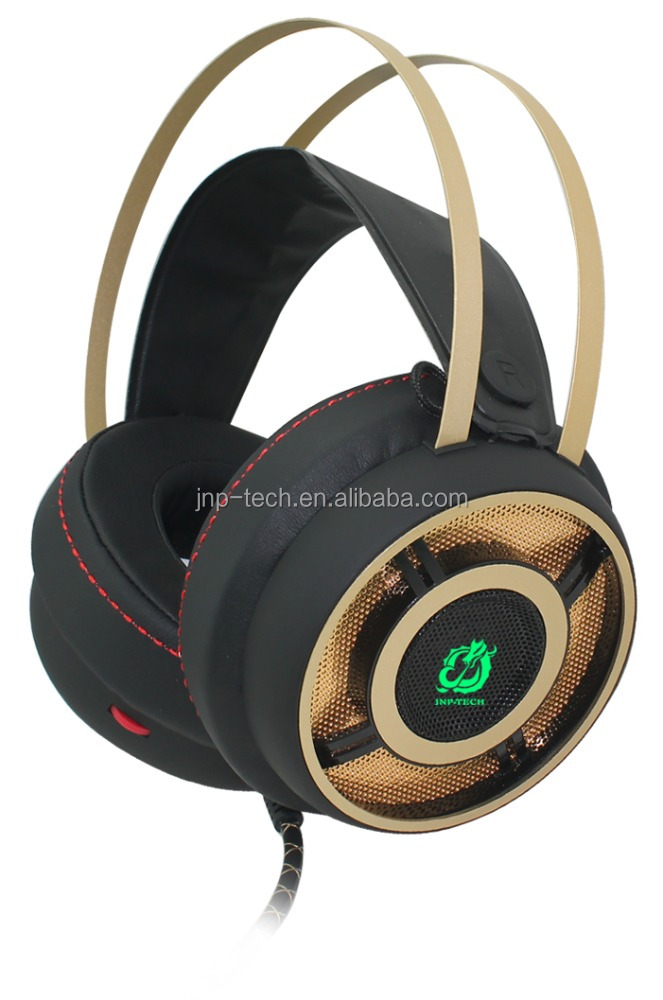 JNP-G99 the most comfortable lightest Professional 5.1 usb Gaming Headset