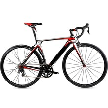 light weight aluminum alloy 7050 with carbon fork road racing bicycle