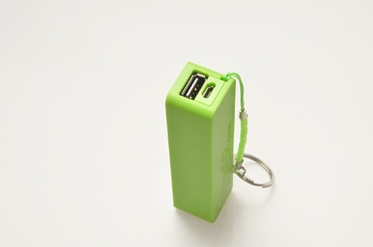 emergency charger mini Power Bank 2600mAh for smart phone, portable power bank