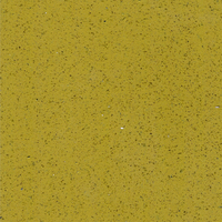 yellow color countertop quartz stone (QG165)