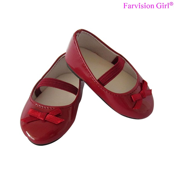 Factory make patterns doll shoe manufacturer