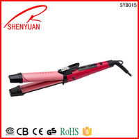 Hot selling Mini Tourmaline Personal Care Professional Ceramic salon Curling Irons big small wave hair curler Various Color OEM