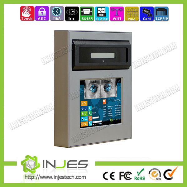 Hot Embedded Win7 System WIFI Ethernet Business Iris Access Control (IR52D)
