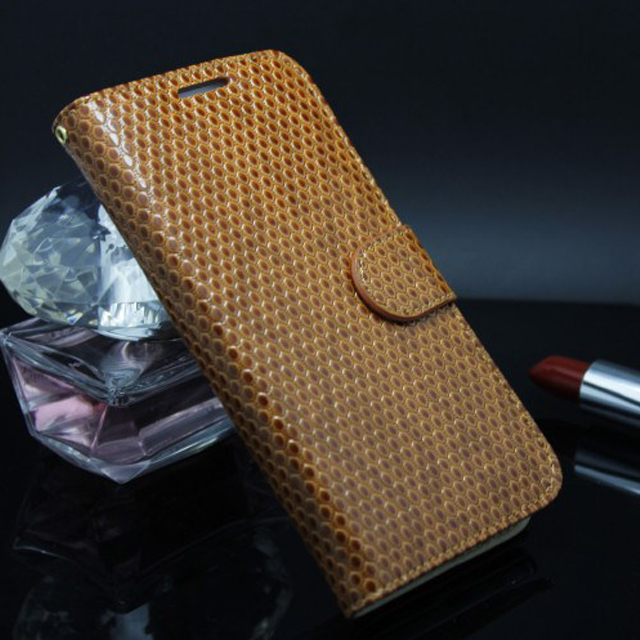 Lanyard Leather Phone Case,For Samsung Galaxy S4 Mobile Phone Stand Leather Strap Case