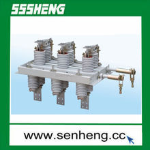 GN30-12 series 12KV 400A indoor rotary type high voltage isolation switch