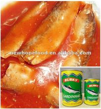 Fresh Canned Sardine Fish Preserves In Oil/Tomato Sauce