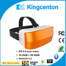 2017 factory price All-In-One pc Google cardboard VR glasses Version Virtual Reality 3d movies and 3d Games