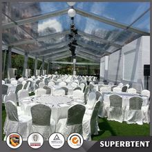 China low price clear roof wedding tent
