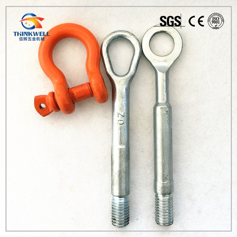 Factory Price Top Quality Forged Steel Hitch Rever Towing Eye Loop