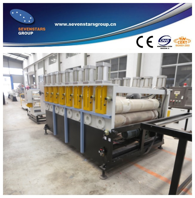 PVC free foamed sheet board decoration sheet production line
